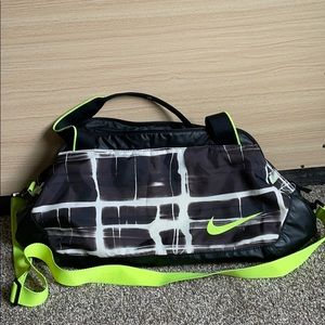 LIMITED EDITION Neon/Marble Nike Gym Duffle Bag